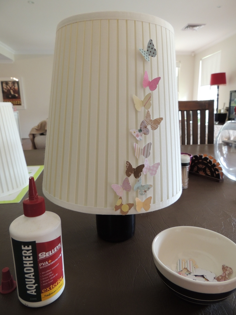 Butterfly light shades