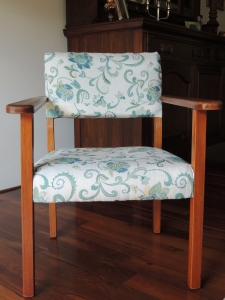Completed chair