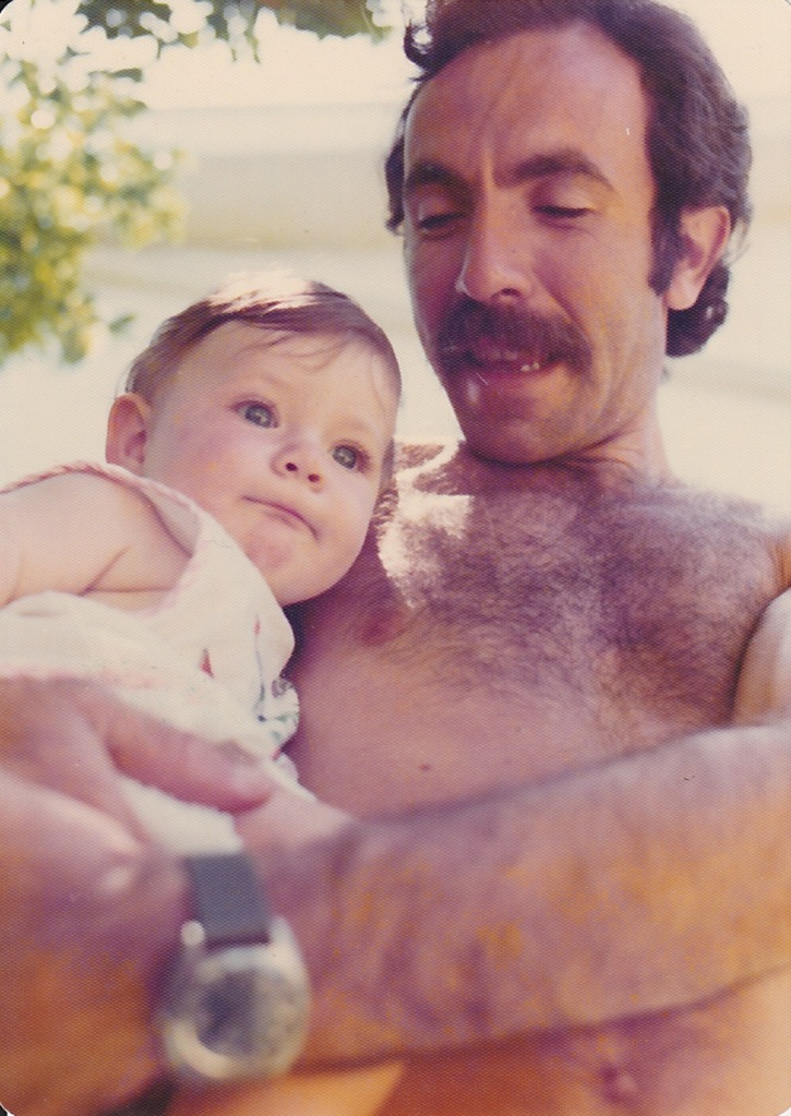 Me at 6 months with Dad
