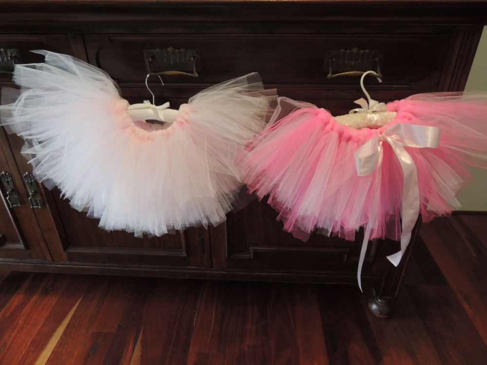 Finished tutus