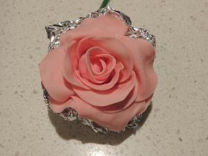 Three layers cut out petals