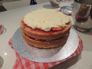 Then add the buttercream