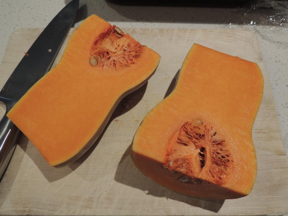 Sweet butternut pumpkin
