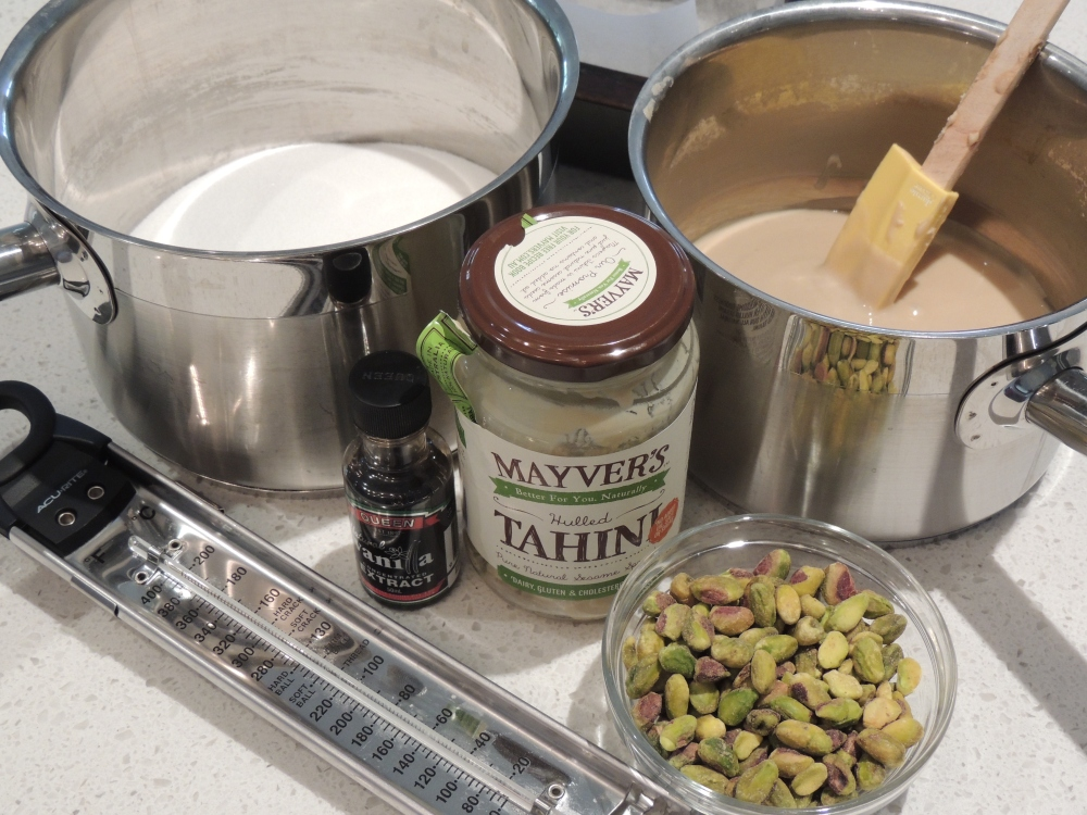 Ingredients for halva_The Mummy Track