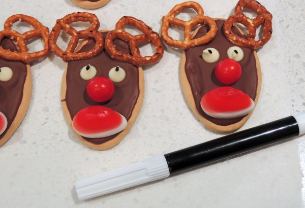 Rudolph Reindeer Biscuits The Mummy Track
